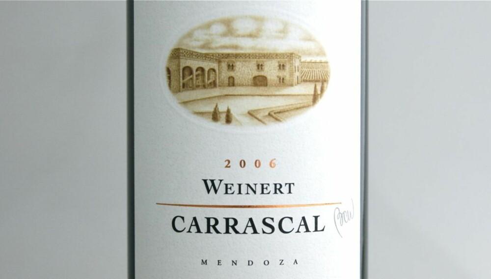 TEST AV GRILLVINER: Weinert Carrascal 2006 kom på andreplass i testen.