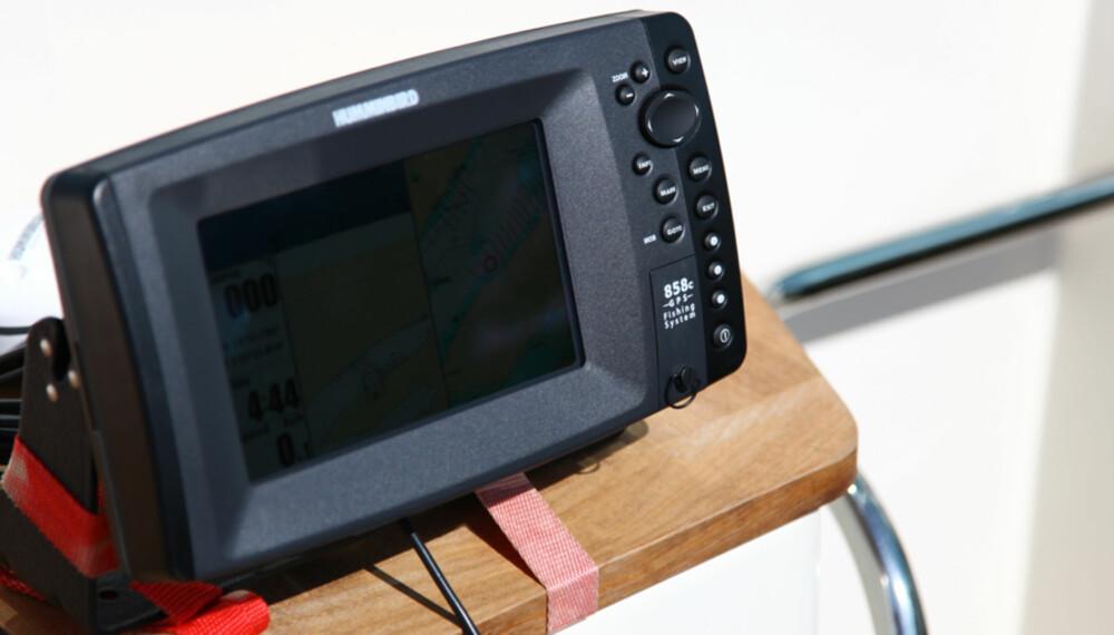 FISKEMASKIN: For de som skal bruke mye tid på fiske, er Humminbird 858cx et godt valg.
