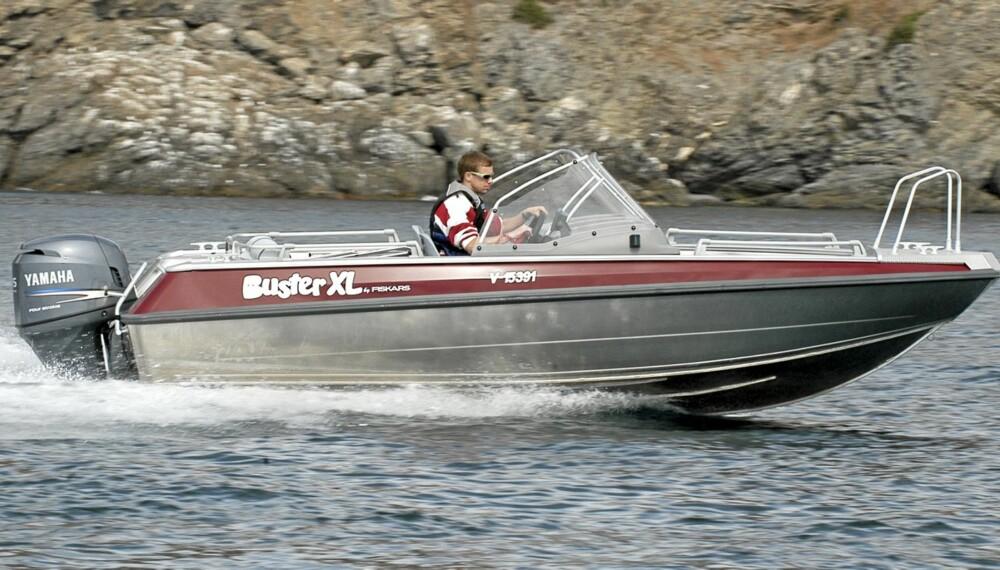 LETT: Auminium er et lett og sterkt byggemateriale, og Buster er en av veteranene innen alubåter.