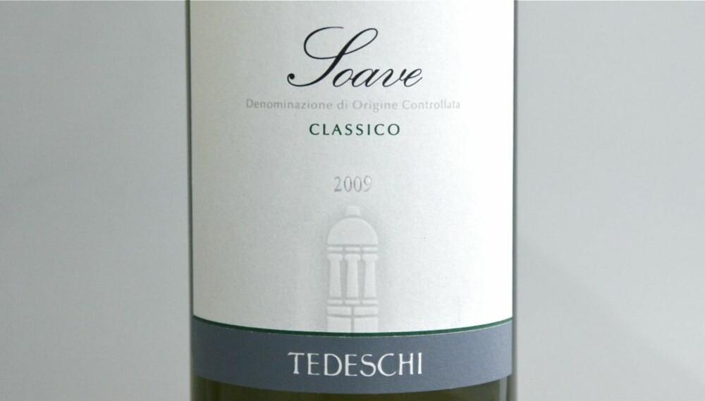 TEST AV SOAVE: Tedeschi kom på femteplass i testen.