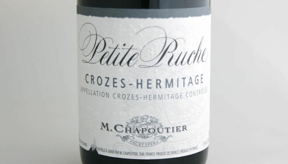 TEST AV CROZES-HERMITAGE: La Petite Ruche kom på delt tredjeplass i testen.