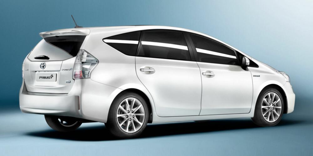 SYV SETER: Bilen vil få en 2+3+3-konfigurasjon på linje med de fleste MPV-ene på markedet.