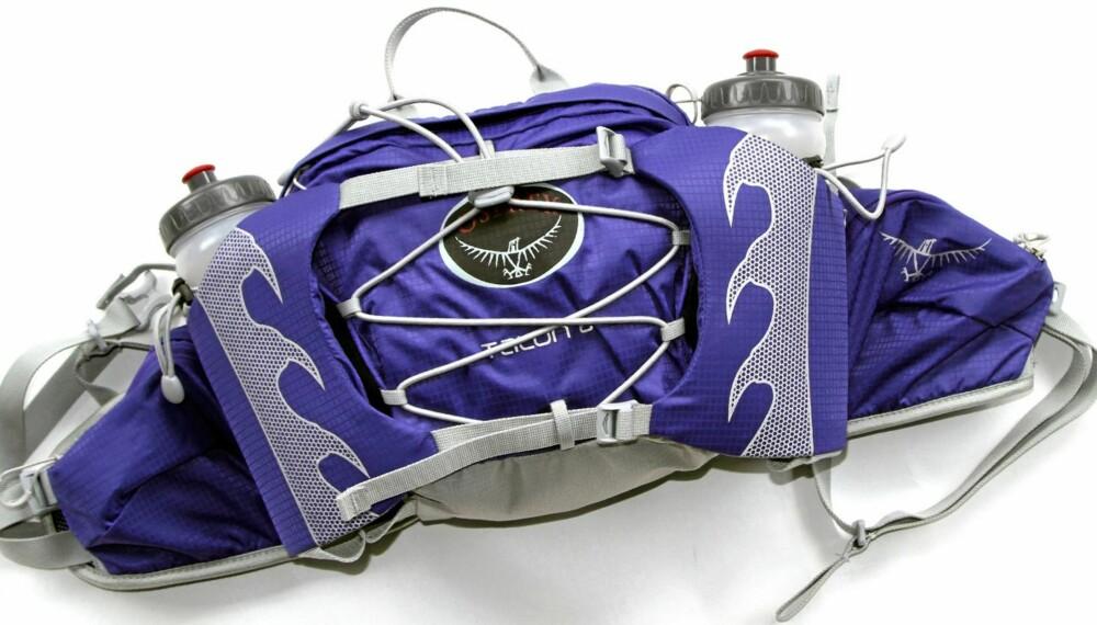 TESTET: Villmarksliv og Klikk.no har testet 11 praktiske hoftesekker til korte turer.