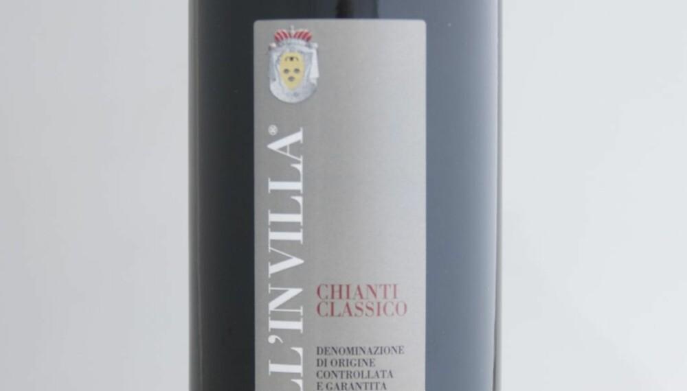 TEST AV CHIANTI: Castell'in Villa Chianti Classico 2007 kom på delt andreplass i testen.