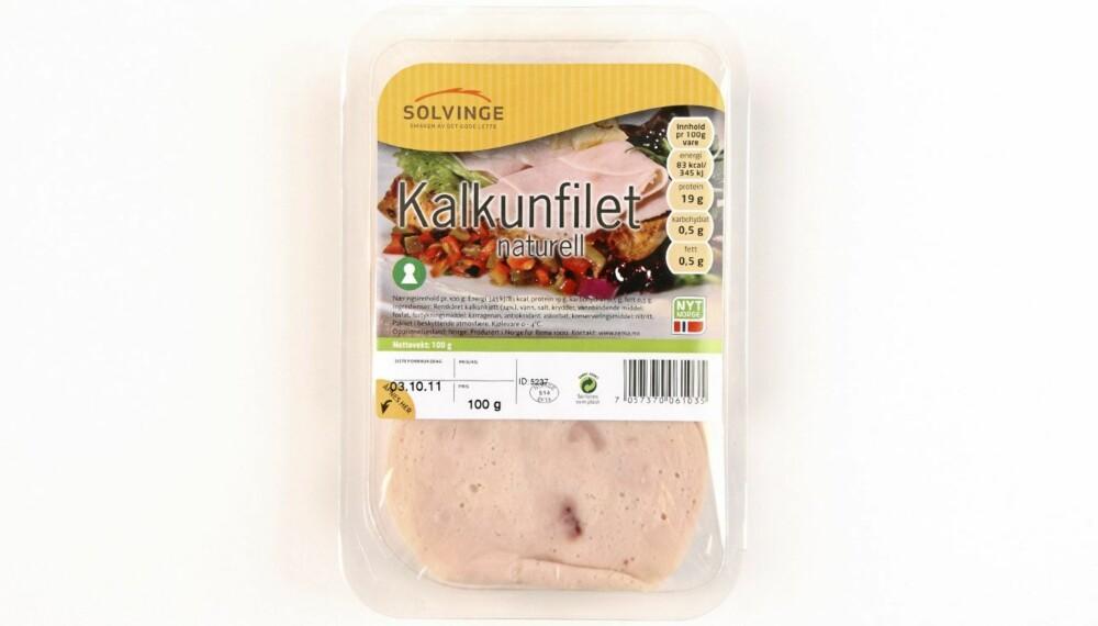 TESTET: DinKost.no har testet 30 forskjellige skinkepålegg av svin, kylling eller kalkun. Dette er det sunneste pålegget.