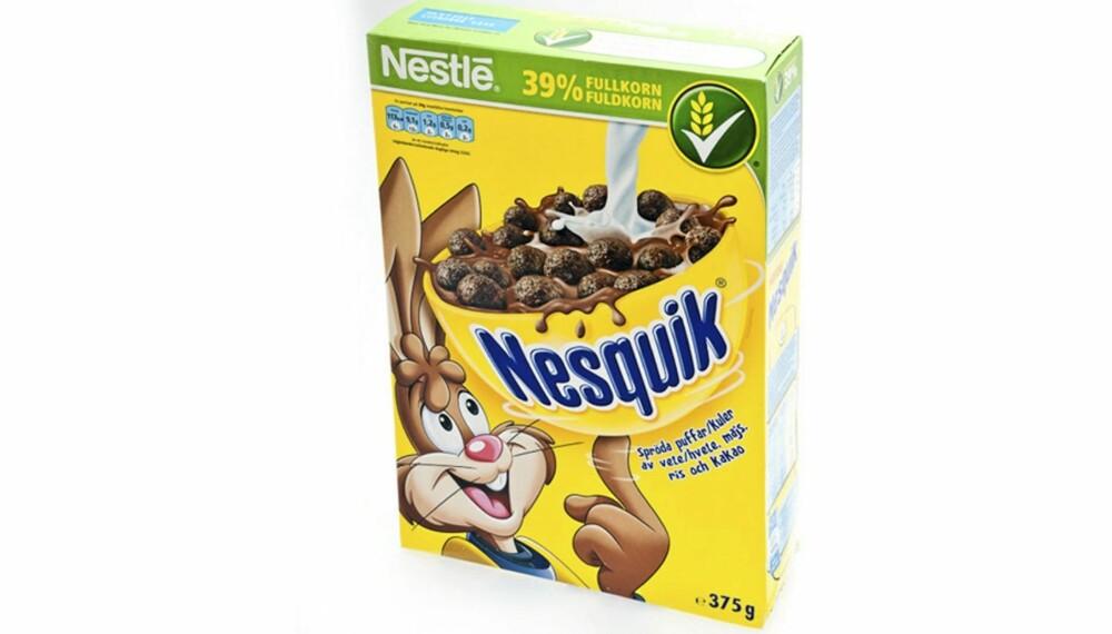 SJOKOLADE: Skyhøyt innhold av sukker og andre tilsetninger som gjør at det venner barn til den søte smaken.