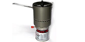 TESTET: Tungen/Aktivt testteam har testet kokesystemer for Villmarksliv og Klikk.no.
