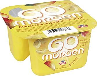 """Go-morgen-yoghurt er en av de anbefalte matvarene i Olympiatoppens """"restitusjonsbag""""."""