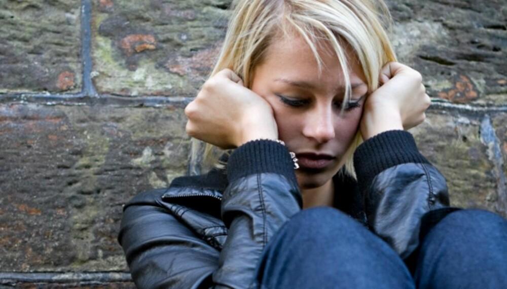 FØLER SEG ALENE: Elever som blir utsatt for skjult mobbing føler seg  alene og har skyldfølelse.