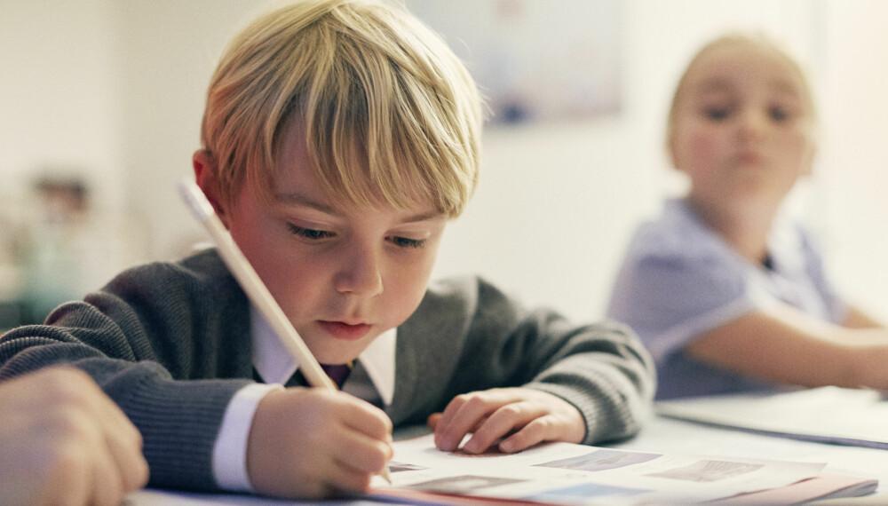 6-ÅRINGEN:: Seksåringen er blitt skolebarn og suger til seg ny kunnskap. Den motoriske utviklingen er også stigende.
