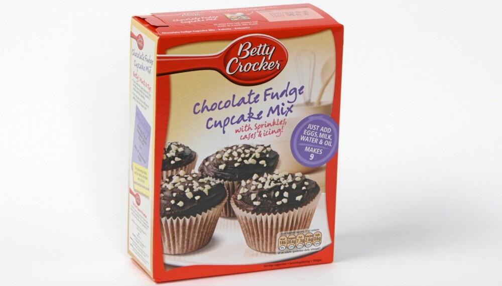 TESTET: DinKost.no har vurdert næringsinnholdet i kakemiks.