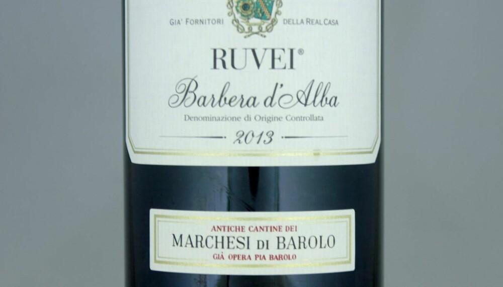 POPULÆR: Ruvei Barbera d'Alba 2013.