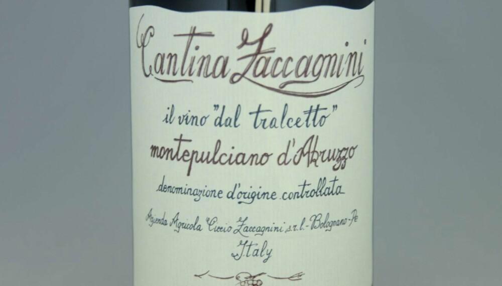 POPULÆR: Zaccagnini Montepulciano d'Abruzzo 2013.