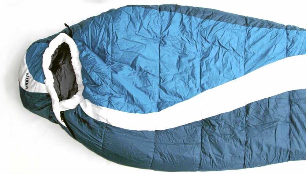 Ypperlig Test av soveposer og liggeunderlag - Tester CC-58