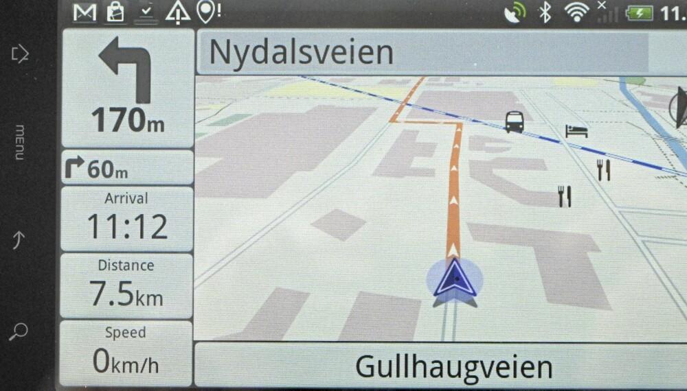 BILLIG OG ENKEL: NavDroyd er testens enkleste navi-app, men også den billigste.