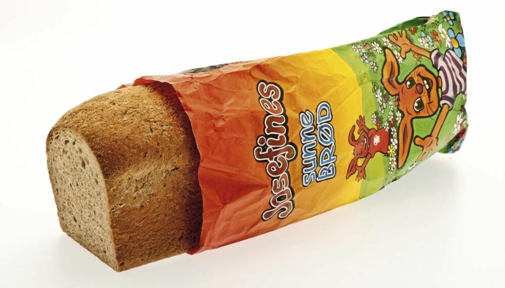brød, brødtest, Josefines sunne brød