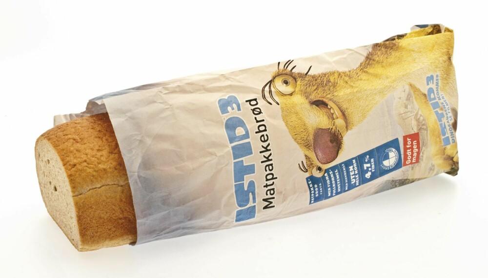 brød, brødtest, istid 3 matpakkebrød