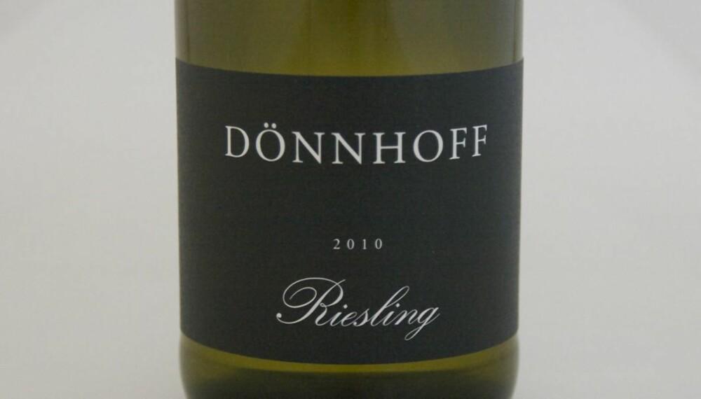 VIN TIL JULEMAT: Dönnhoff Riesling 2010.
