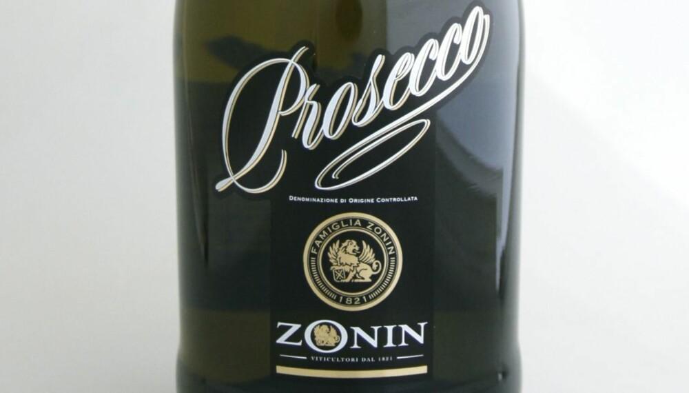 TEST AV PROSECCO: Zonin Prosecco Brut kom på femteplass i testen.