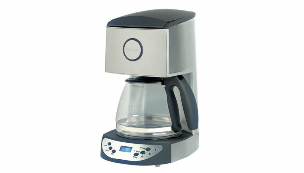 KAFFETRAKTER: Hitachi Coffee maker.