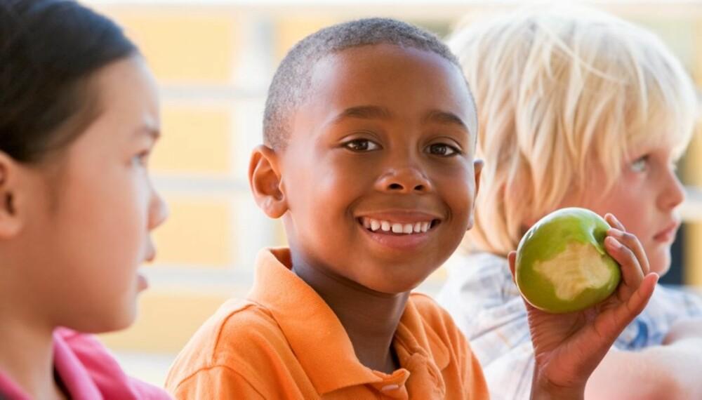 BARN:  Type 1 diabetes er den vanligste kroniske sykdommen blant barn.