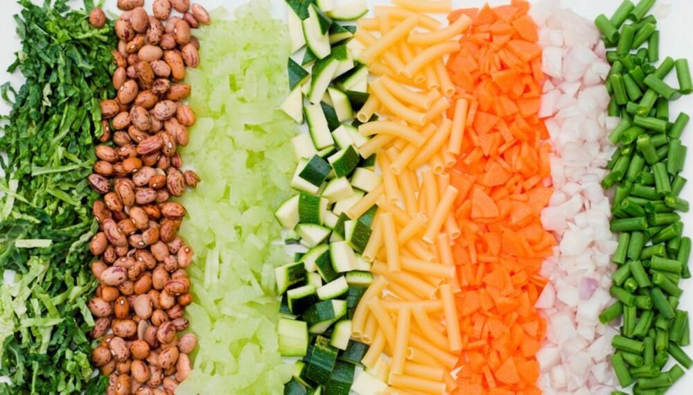 GRØNNSAKER: Sunn mat er viktig ved diabetes