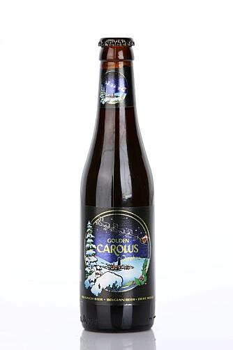 BEST: Gouden Carolus Christmas-Ale er fra Belgia og har behagelige mørke frukttoner som får følge av karamell i smaken.