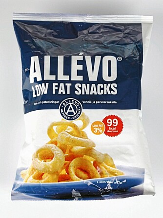 Allévo Low Fat Snacks