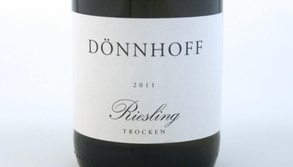 VIN TIL ASIATISK MAT: Dönnhoff Riesling Trocken 2011.