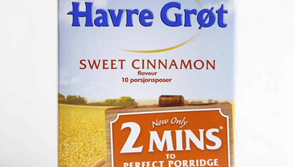 KARAKTER 2: Quaker Havregrøt Sweet Cinnamon