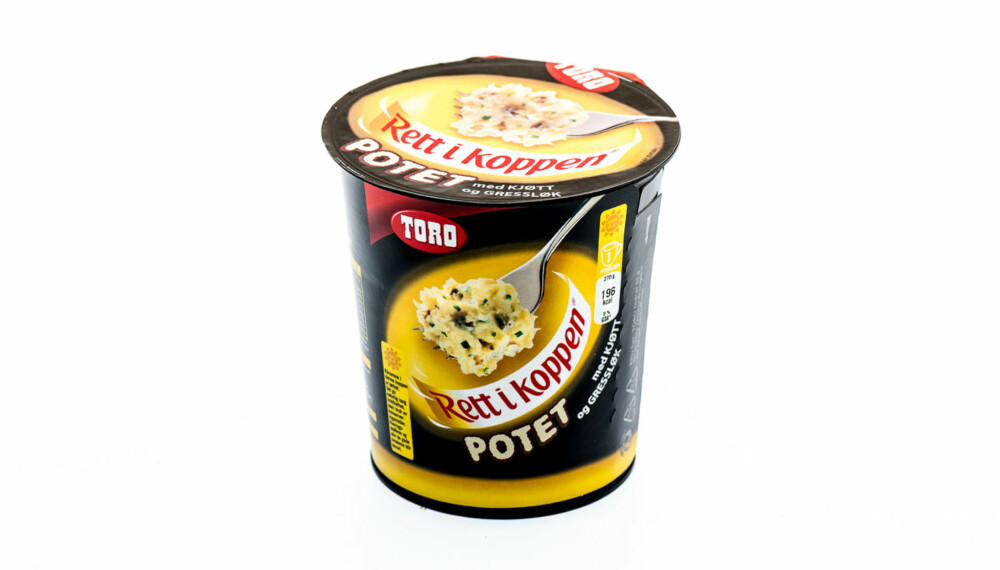 TEST: Rett i koppen potet med kjøtt og gressløk