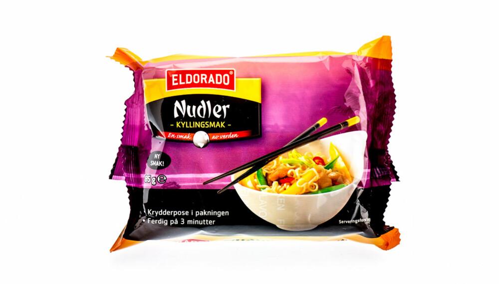 TEST: Eldorado nudler med kyllingsmak.