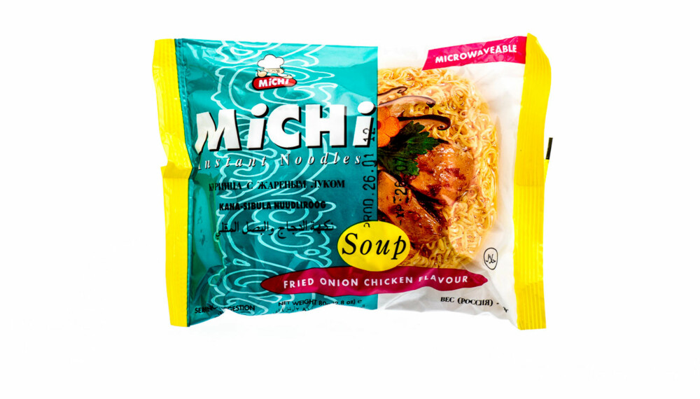 TEST: Michi instant noodles.