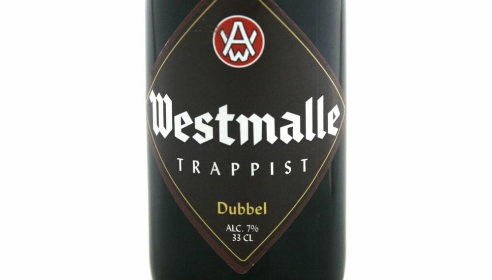 BELGISKE BRUNE: Westmalle Trappist Dubbel kom på delt fjerdeplass.