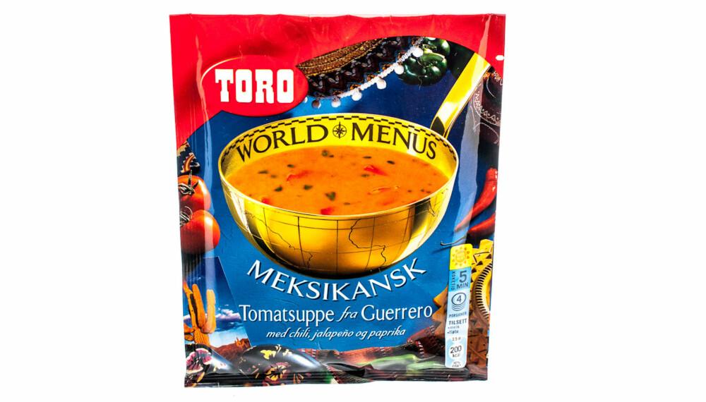 TEST AV TOMATSUPPE: Toro Meksikansk tomatsuppe fra Guerrerro.