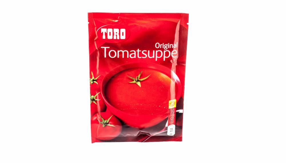 TEST AV TOMATSUPPE: Toro Original tomatsuppe