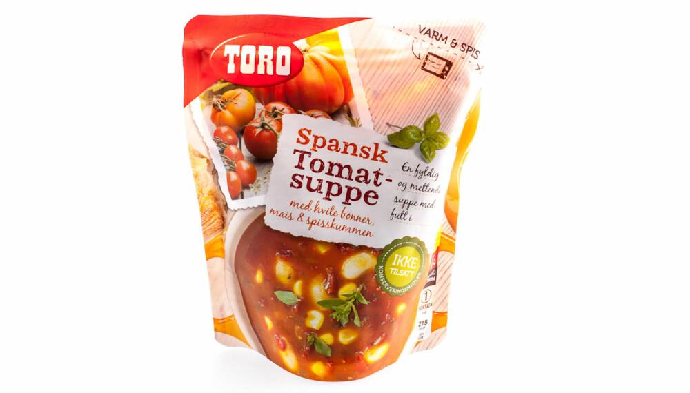 TEST AV TOMATSUPPE: Toro spansk tomatsuppe