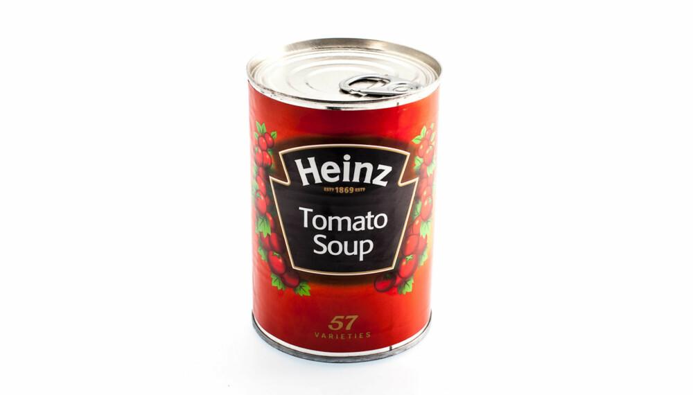 TEST AV TOMATSUPPE: Heinz Tomato Soup