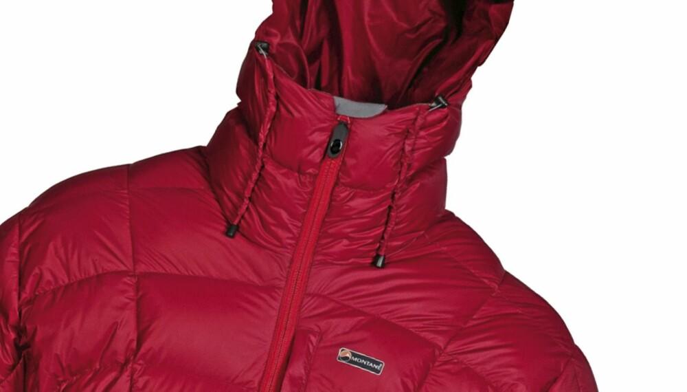 GOD LENGDE: Montane North Star Jacket har god lengde og er lett på vekt.