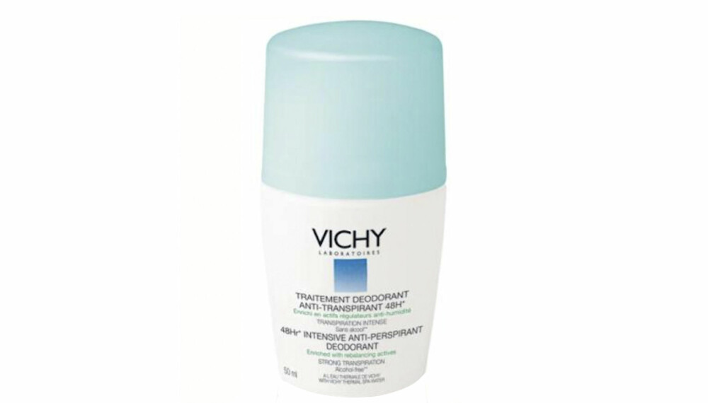 TEST: Vichy Antiperspirant Deodorant.