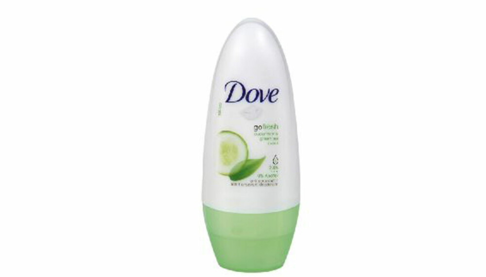 TEST: Dove Go Fresh.