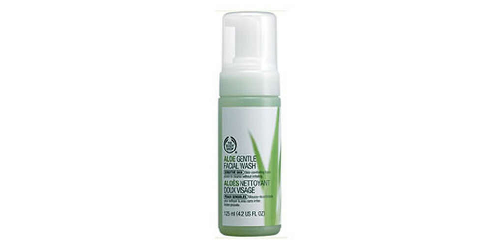 TEST: The Body Shop Aloe Gentle Facial Wash.