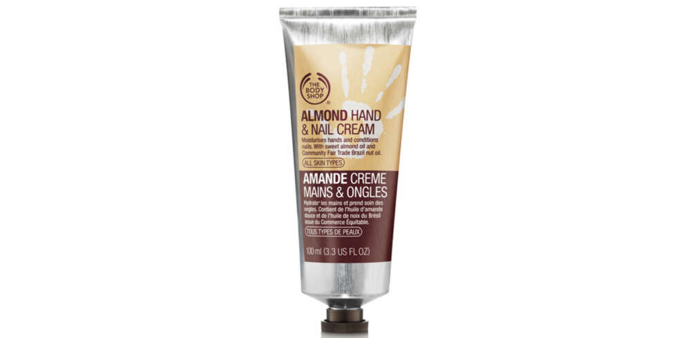 TEST: The Body Shop Almond Hand & Nail Cream.