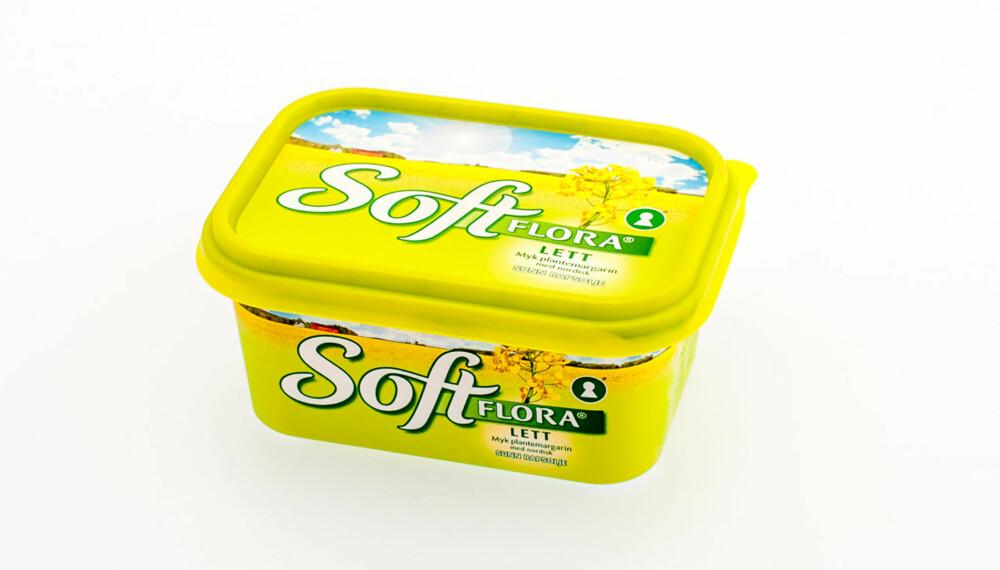 TEST AV SMØR OG MARGARIN: Soft Flora lettmargarin