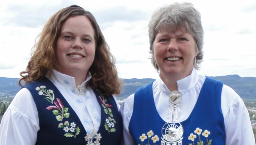 BUNAD: Ishavsdrakt og Svalbardbunad Carine Hanssen