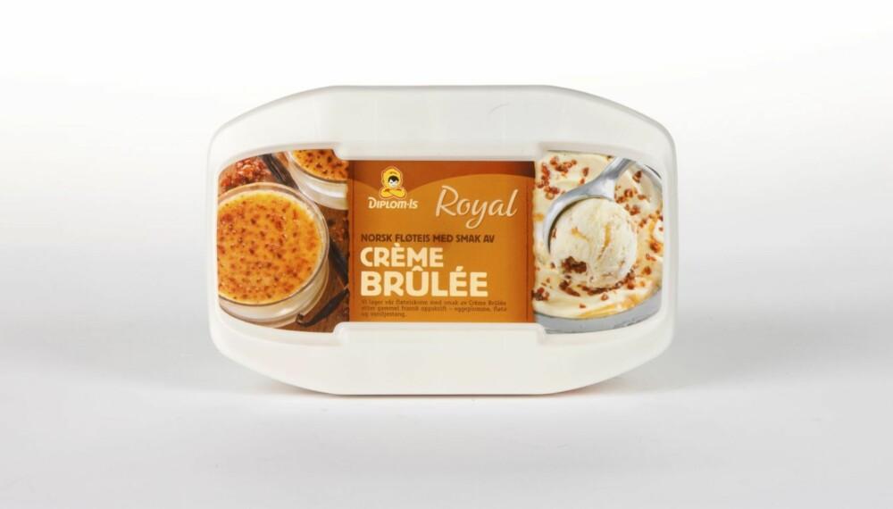 ISKREM: DinKost.no har testet næringsinnholdet i 23 typer iskrem på boks.