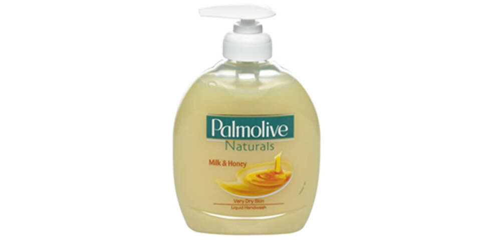 HÅNDSÅPE: Palmolive Nourishing Milk & Honey