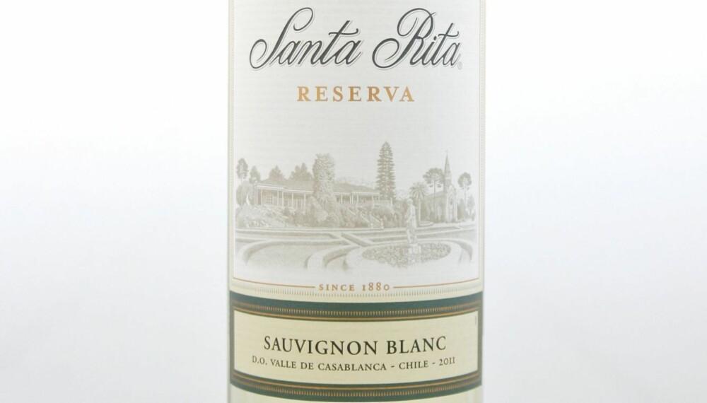 SOMMERVIN: Santa Rita Sauvignon Blanc Reserva 2011.