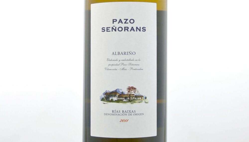 SOMMERVIN: Pazo de Señorans Albariño 2011.