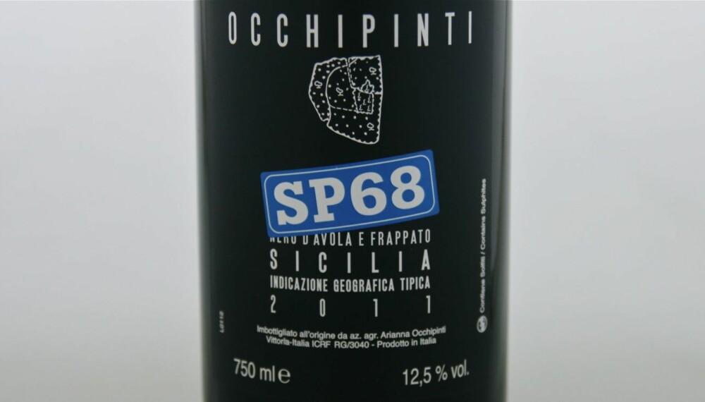 SOMMERVIN: Occhipinti SP 68 Nero d'Avola e Frappato 2011.